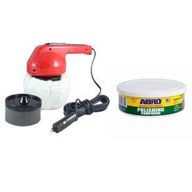 Coido 6003 Car Polisher+ABRO Polishing Compound PC-310