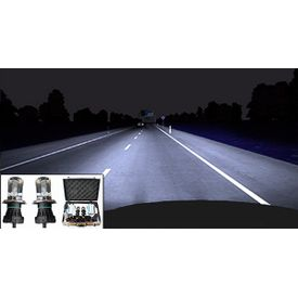 Speedwav H4 6000K 55W Car HID Headlight Conversion Kit+Carry Case