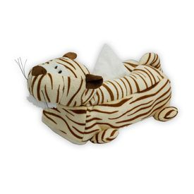 Speedwav Premium Soft Touch Car Tissue Box Cover Tiger - Beige