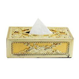 Speedwav Royal Full Golden Designer Tissue Holder Box