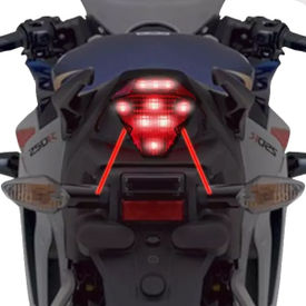 Speedwav LED LASER Brake Light With Flasher-RED