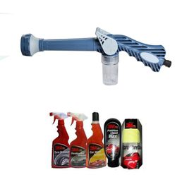 Speedwav EZ 8in1 Car Pressure Washing Cannon & Shampoo Mixer+3M Care Kit-Big
