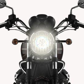 Speedwav Bike H4 3LED Bright Light Bulb White