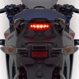 Speedwav 6 LED Safety Brake Light With Indicators-Red
