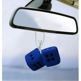 Speedwav Dice Hanging Car Air Freshener-Blue