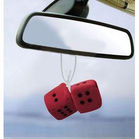 Speedwav Dice Hanging Car Air Freshener-Red