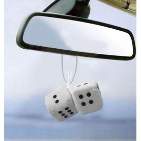 Speedwav Dice Hanging Car Air Freshener-White