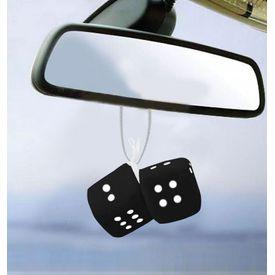 Speedwav Dice Hanging Car Air Freshener-Black