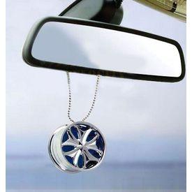 Speedwav Car Chrome Alloy Hanging Car Air Freshener