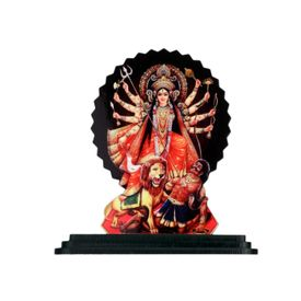 Speedwav Car Dashboard Printed God Idol - Maa Durga