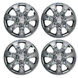 Speedwav Rhino Full Chrome 13 inch Wheel Covers-Set Of 4