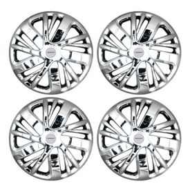 Speedwav NS Full Chrome 14 inch Wheel Covers-Set Of 4