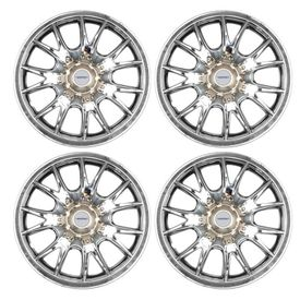 Speedwav Karzima Center Bolt Full Chrome 14 inch Wheel Covers-Set Of 4