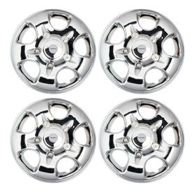 Speedwav Scorp 15 inch Chrome Wheel Covers-Set Of 4