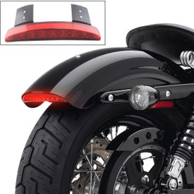 Chopped Fender Edge LED Tail Light Red for Harley Davidson