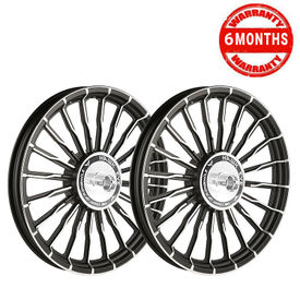 Hawk Eye 20 Spoke Wave HE20S Alloy Wheels for Royal Enfield