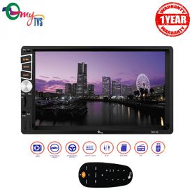 myTVS TAV-61 Double Din HD Touch Screen Car Stereo Media Player with USB/MP5/MP3 & Mirror Link