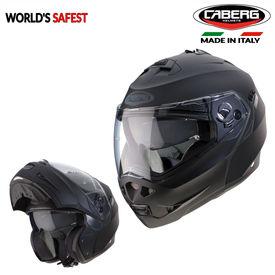 Caberg Duke Legend 17 Flip-Up Double Visor Modular Helmet Matt Black