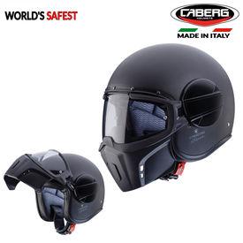 Caberg Jet Ghost Full Face Helmet Matt Black