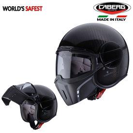 Caberg Jet Ghost Full Face Helmet Carbon Fiber