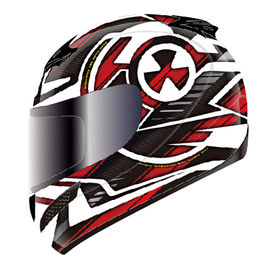 THH Helmet Full Face T-76AP-2 Nuclear White Red