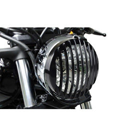 Black Headlight Cover Grill for Harley Davidson