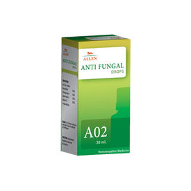 Allen A02 Homeopathy Drops  for Fungal Infections