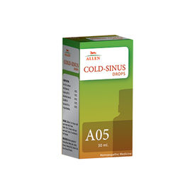 Allen A05 Homeopathic Drops for Cold - Sinus