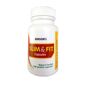 Baksons Slim Fit Capsules with Garcinia Cambogia, Stay Slim and Trim