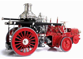 Fire Tender Christie Front Drive Steamer - 1911