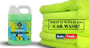 What is waterless car wash?