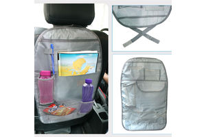 Speedwav Car Back Seats Multi-functional Pockets Storage Organiser Bag-Grey
