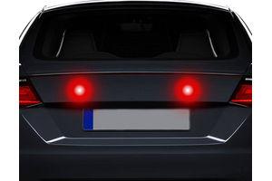 Speedwav Red LED Projector Strobe Brake Lights Set Of 2