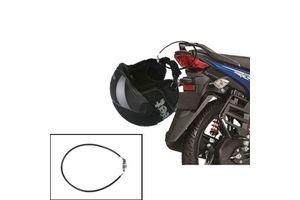 Speedwav 4 Digit Steel Cable Helmet Lock- Black