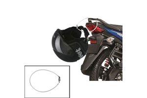 Speedwav 4 Digit Steel Cable Helmet Lock- Silver