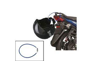 Speedwav 4 Digit Steel Cable Helmet Lock- Blue