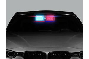 Speedwav 12 Mode Car Police Style LED Flashing Lights