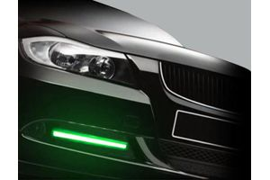 Speedwav GREEN 8LED Multi Pattern Strobe Lights Set Of 2