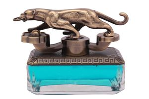 Speedwav Feng Shui Brass Finish Jaguar Car Perfume 50ml-Aqua