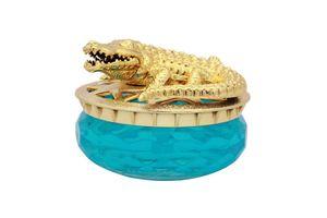 Speedwav Golden Alligator Car Perfume 30ml-Aqua