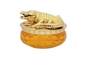 Speedwav Golden Alligator Car Perfume 30ml-Lemon