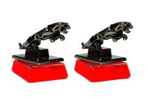 Speedwav Classy Jaguar Refillable Car Perfume Set of 2 - Cool Red