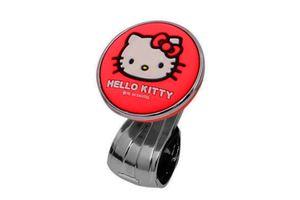 Hello Kitty Car Steering Wheel Power Holder Spinner Knob-RED