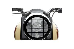 Speedwav Harley Style Headlight Cover Grill-Straight Line for Royal Enfield