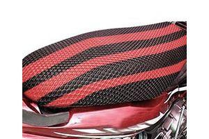 Speedwav Bike Net Seat Cover Sheet-Red & Black