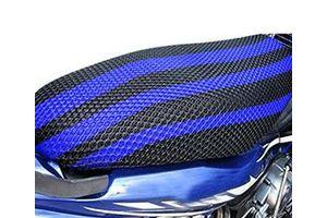 Speedwav Bike Net Seat Cover Sheet-Blue & Black