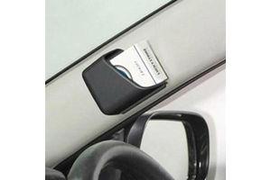 Speedwav Car Pillar Storage Pockets Set Of 2 - Black