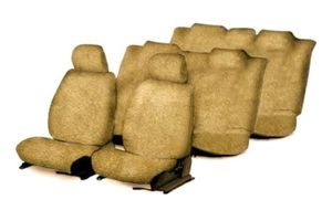 Speedwav Sweat Control Beige Towel Seat Covers