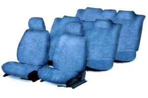 Speedwav Sweat Control Blue Towel Seat Covers