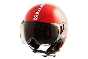 Steelbird Helmet SB 27 Style Open Face-Red